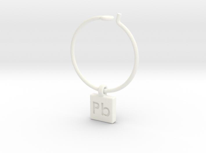 Element Wine Charm - Pb 3d printed