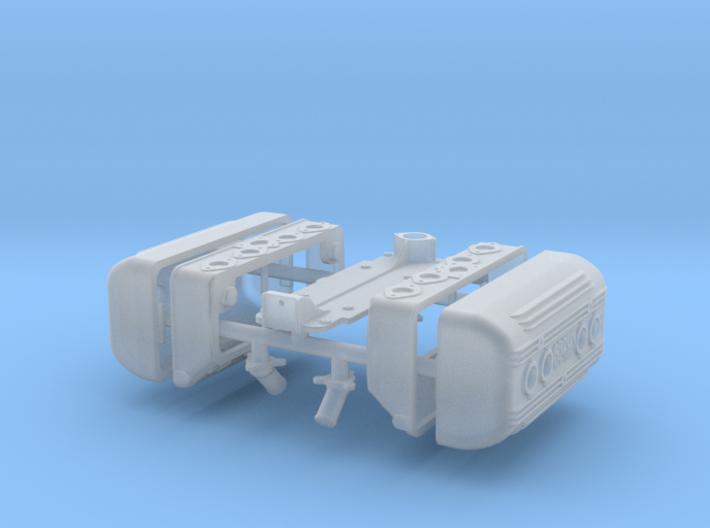 1 12 Flathead Ardun Head Kit 3d printed