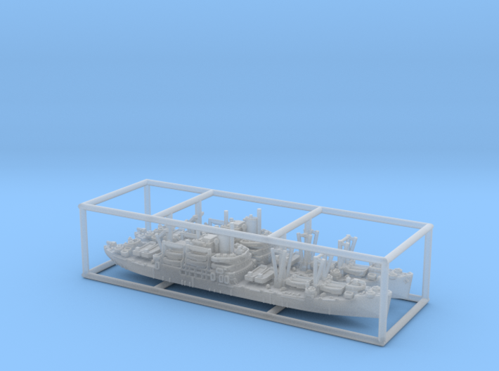 1/3000 US APA Bayfield (x2) 3d printed