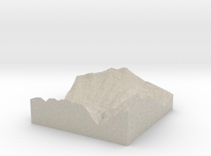 Model of Fuhren 3d printed