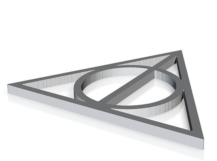 Deathly Hallows 3d printed