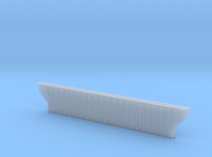 Woodchip Hopper Sides N Scale 70' 3d printed