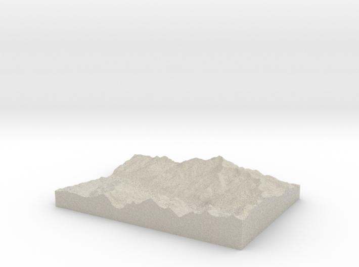 Model of Pandora 3d printed