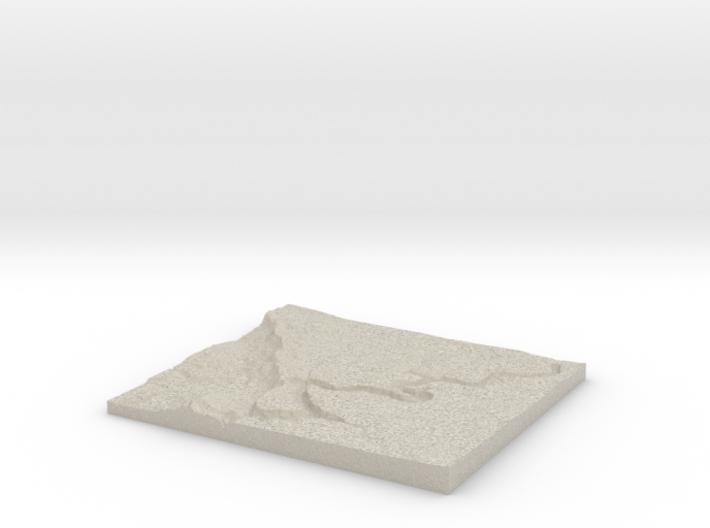 Model of Chair Crossing 3d printed