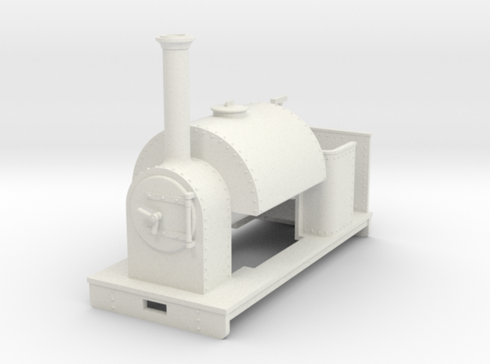 Gn15 saddle tank loco - no cab 3d printed