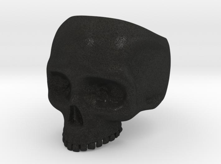 Skull Ring - Size 10 (inner diameter = 19.76 mm) 3d printed