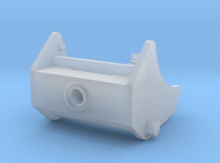 M31 Front Pintle Unioned 1:35 3d printed