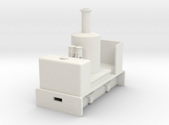 Gn15 vertical boiler loco 3d printed