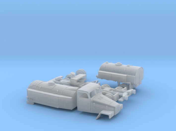 LKW IFA G5 Tankzug (zivi Var.) H0 1:87 3d printed