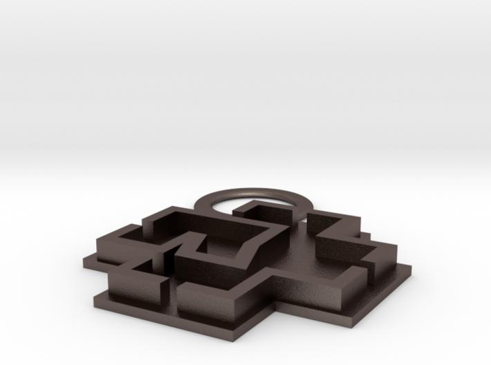 Rammstein Keyring 3d printed