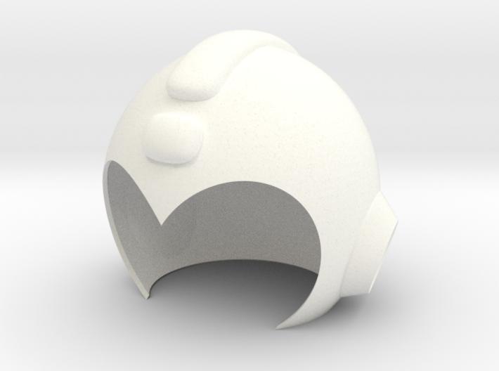 Mega Man Helmet 3d printed