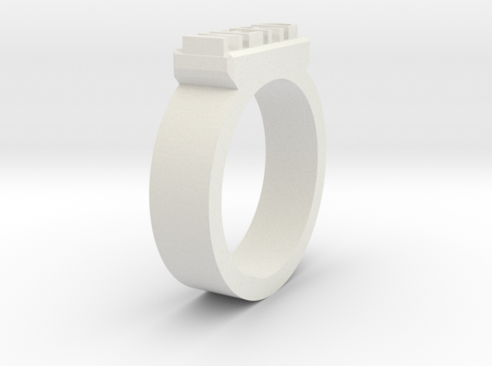Nerd Ring Size 11 3d printed