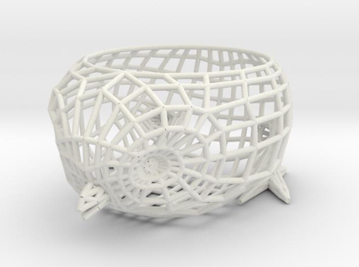 Twitter Bird Egg Holder 3d printed