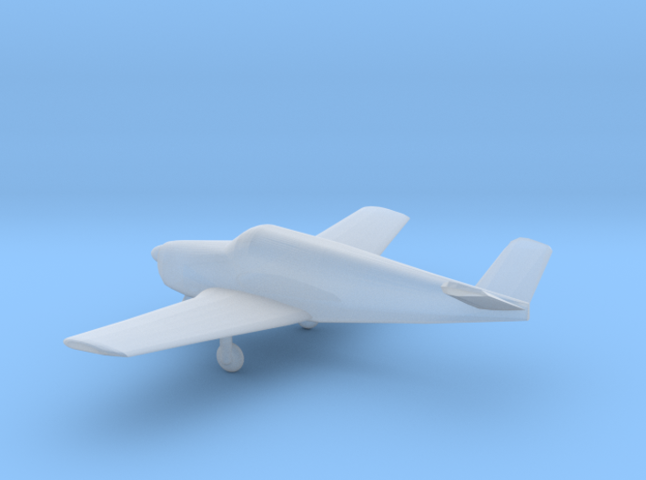 Beechcraft B35 Bonanza - Nscale 3d printed