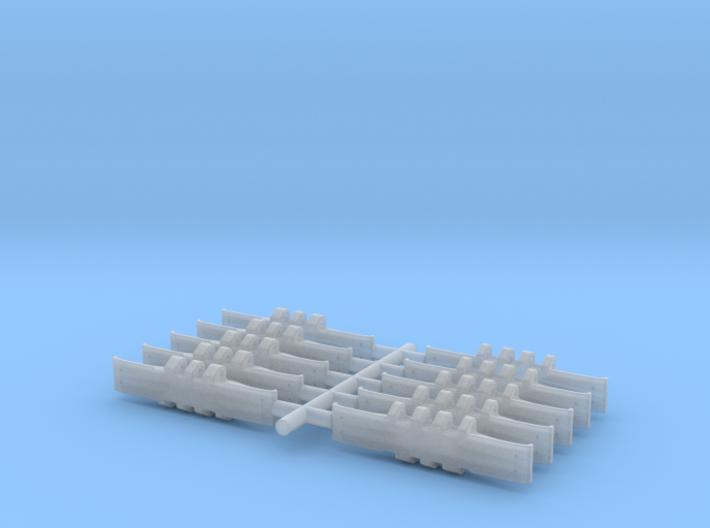 Crawler Single Track 10- Piece Set 3d printed