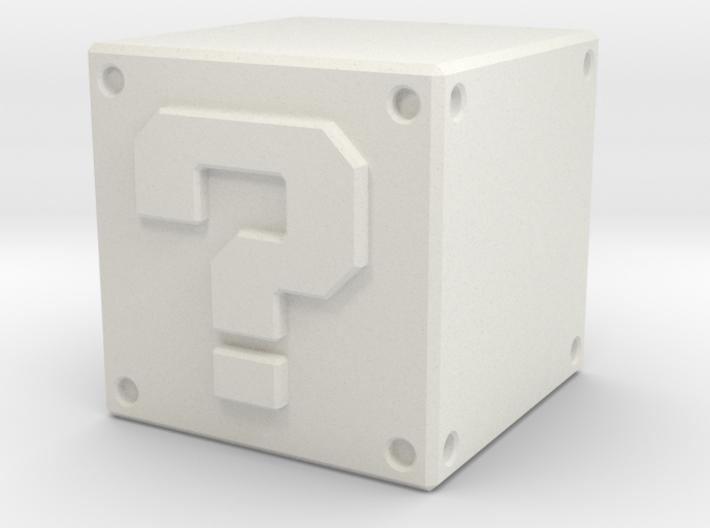 Super Mario Question Block 3d printed