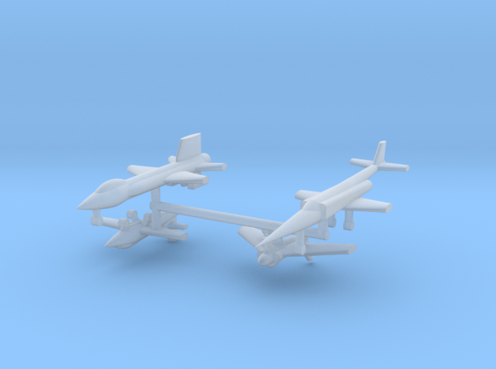 1/600 Experimental Aircraft Set 1 3d printed