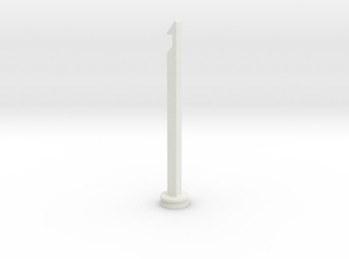 NERF Stampede Plunger rod 3d printed
