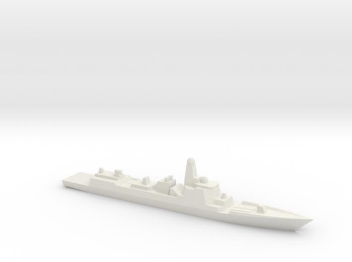 Type 052D 1/1800 3d printed