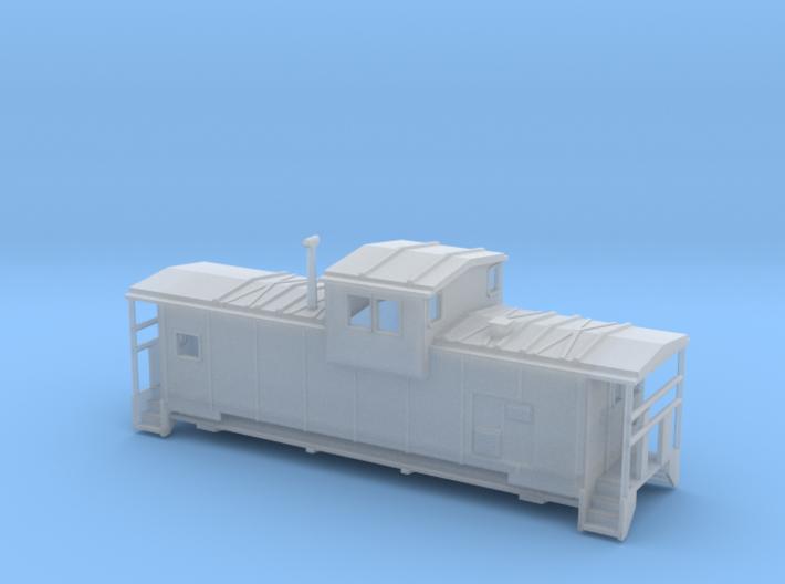 DMIR Modern Caboose - Nscale 3d printed