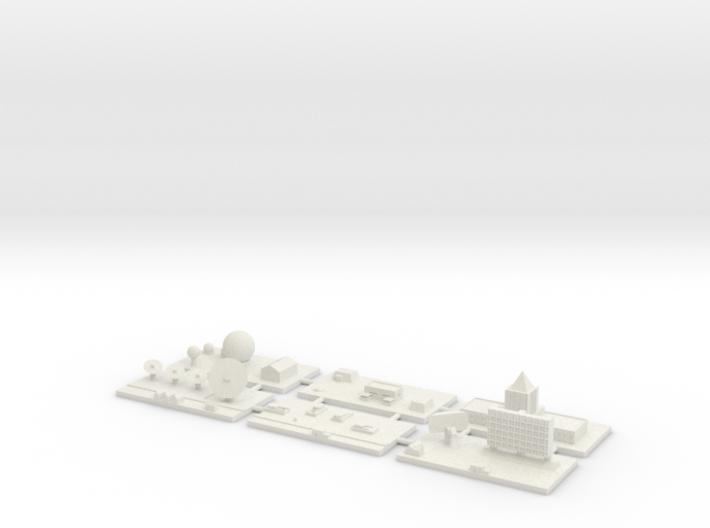 "1"" Building Set 7 - Command 3d printed"