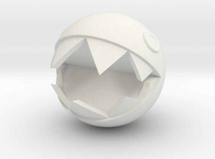 Super Mario Chain Chomp 1inch 3d printed
