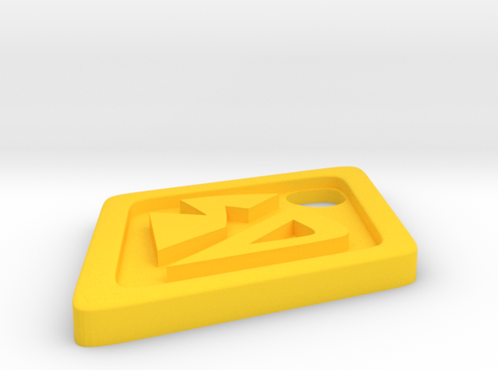 ScoobyDoo Dog Tag 2 inch Pendant 3d printed