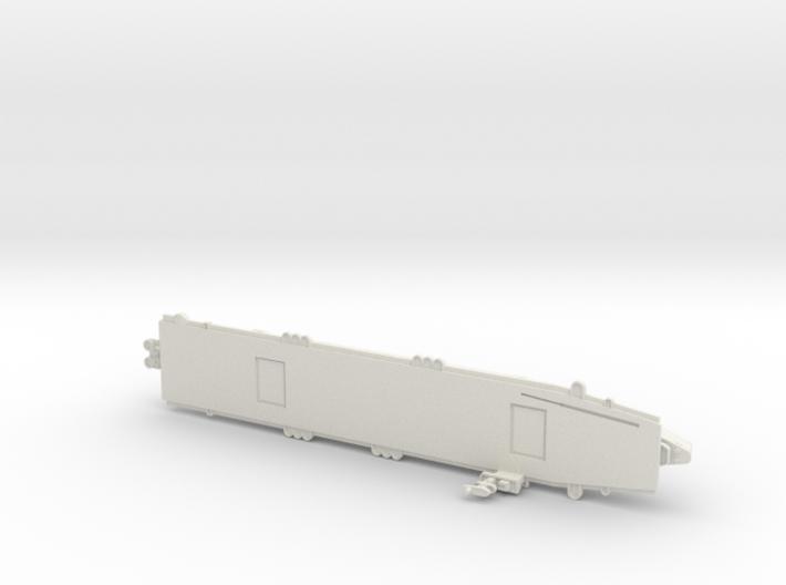 USS Sangamon 1/1800 3d printed