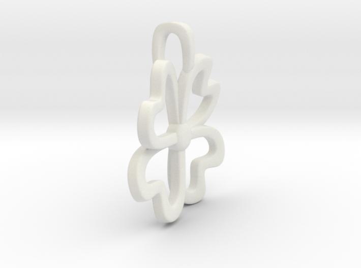4-Heartleaf-clover 3d printed