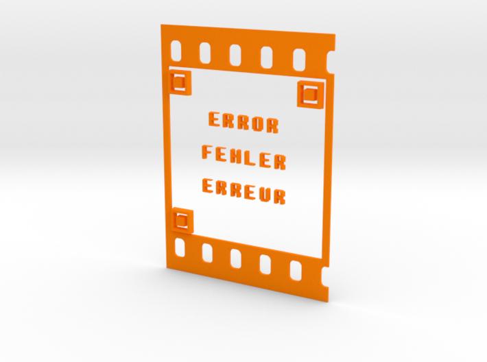 FILM ERROR FEHLER ERREUR 3d printed