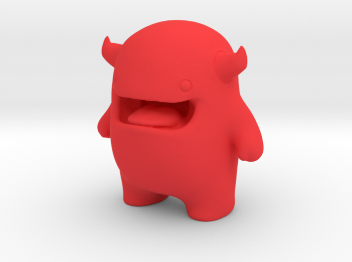 Alf Mascot Character 3d printed