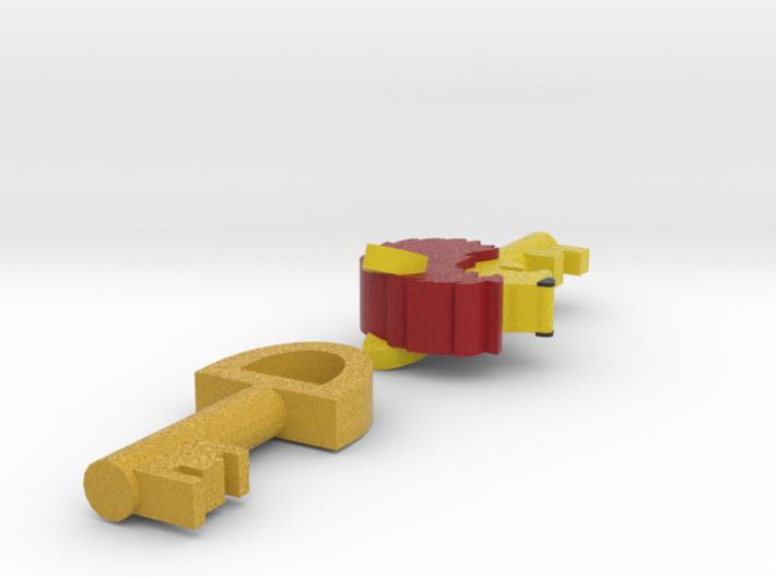 Zelda Fan Art: TLoZ: Keys 3d printed