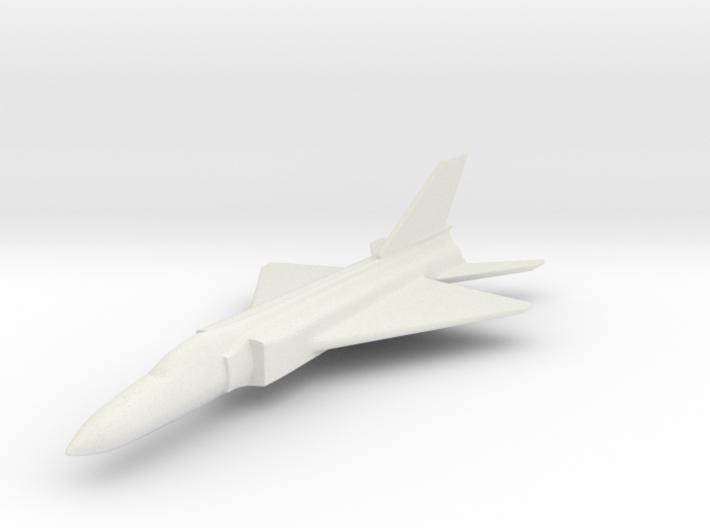 1/200 Scale Shenyang J-8 3d printed