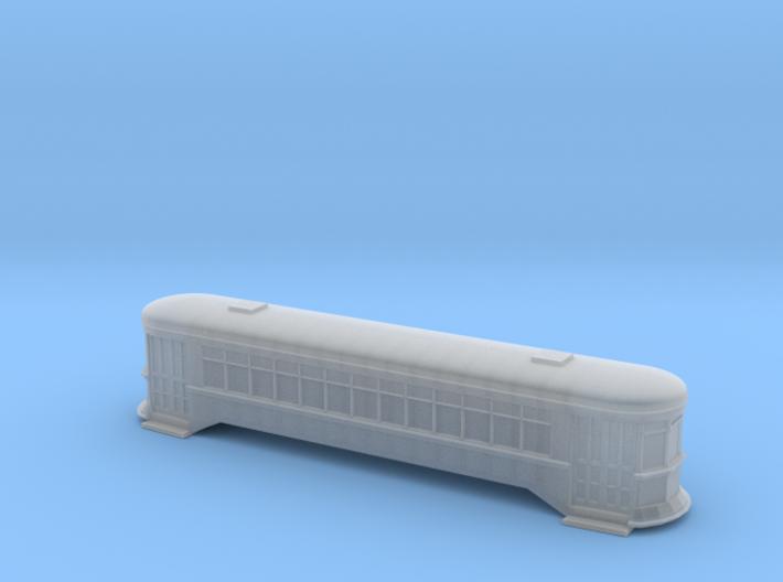 StreetCar II - Zscale 3d printed