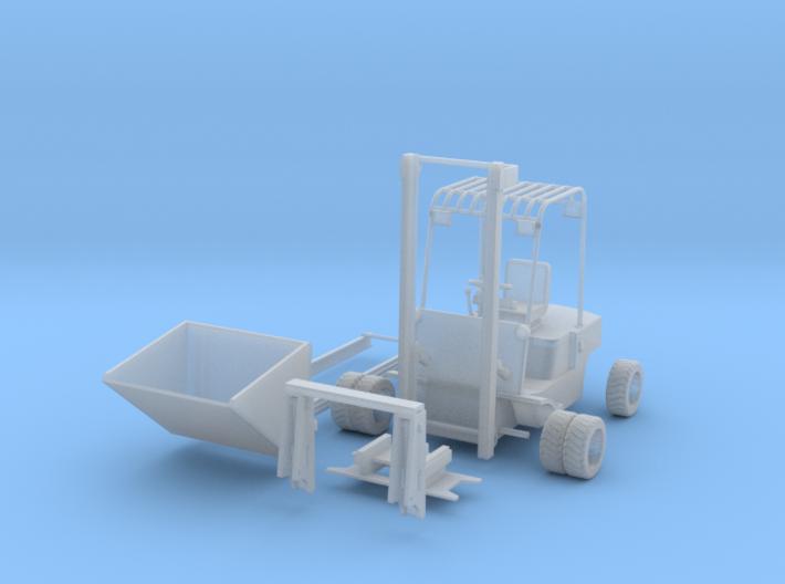 Verbrennungsstapler mit Schaufel 1:45 3d printed