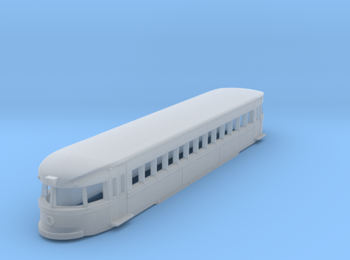N Scale Brill Bullet Body Shell 3d printed