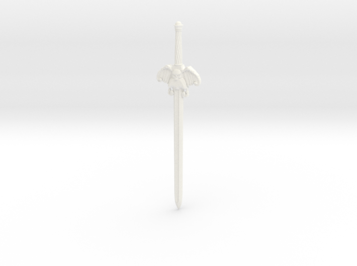 Movie Bonesword 3d printed