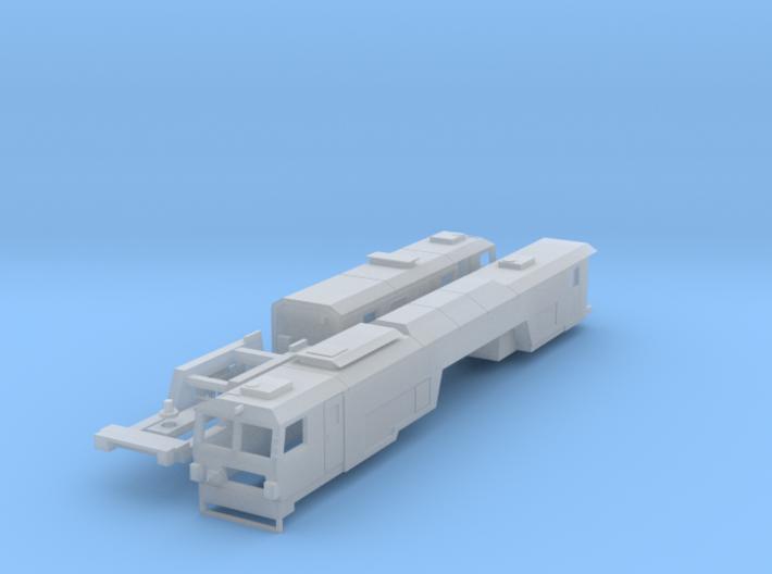 N Gauge 09-3X Tamper 3d printed