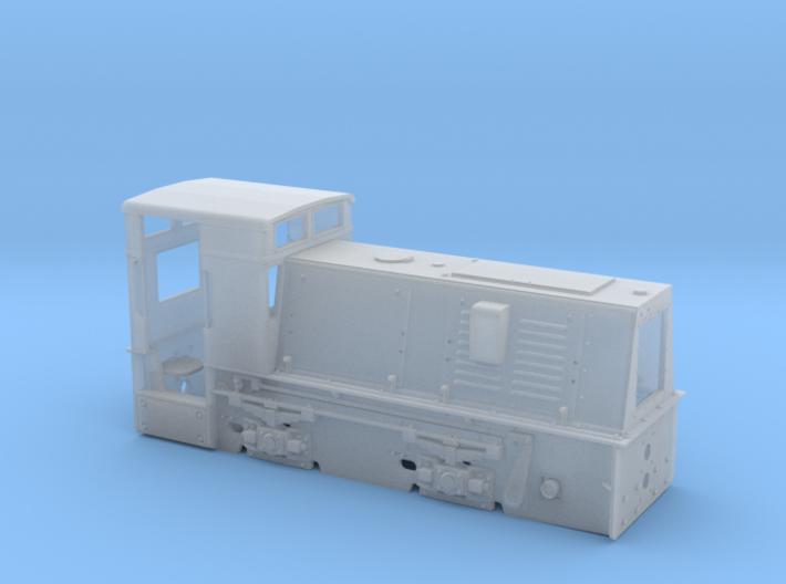 Feldbahnlok HF50b Spur 1f Quarzwerk Horrem 3d printed