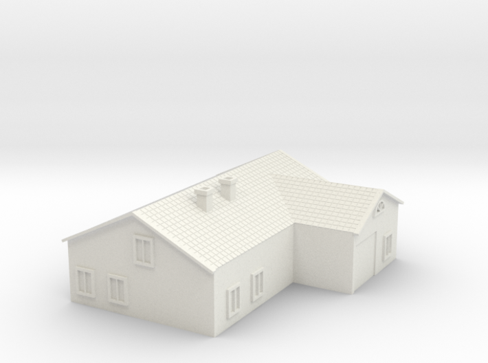 House 3 3d printed