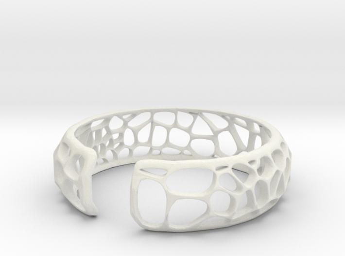 Coral Cuff 3d printed