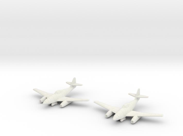 1/144 Messerschmitt Me-262A-2a (x2) 3d printed