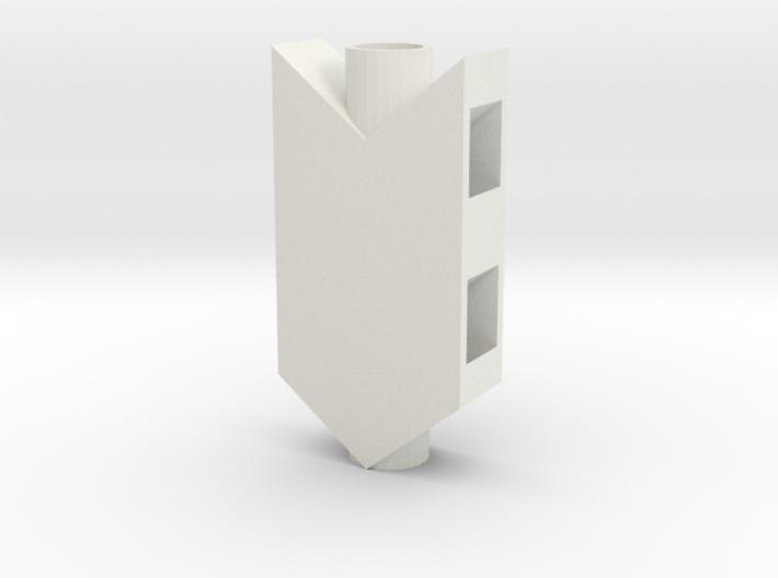 Barret 50.cal style air stripper 3d printed
