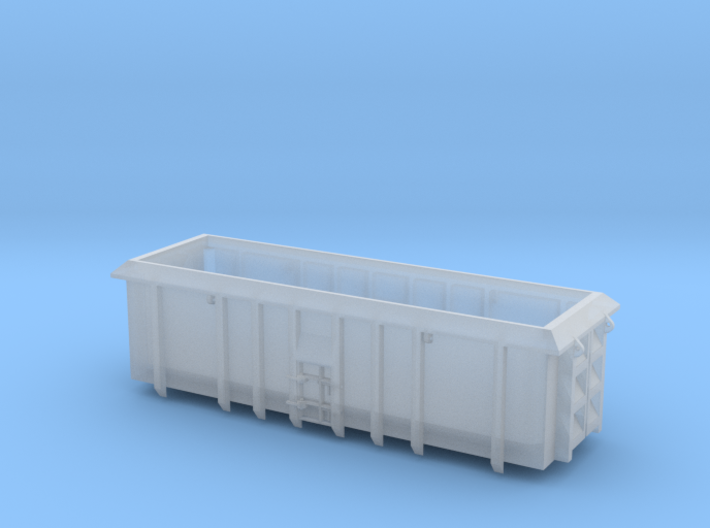 ASW Scrap Wagon PO-022a-d for N Gauge 1:148 3d printed