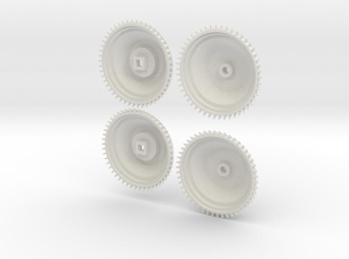 1/8 scale Brakedrum Set Of 4 3d printed