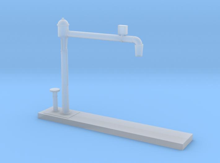 Z Scale Water Crane Model Variant B 3d printed