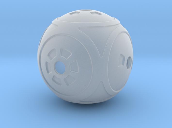 Spherical Dice 3d printed