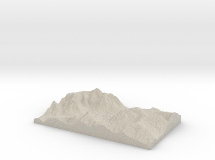 Model of Bergamo 3d printed