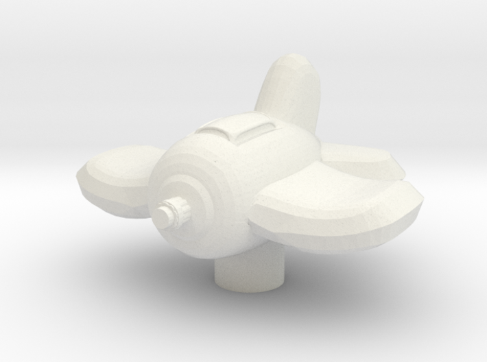 Xxcha Fighter 3d printed