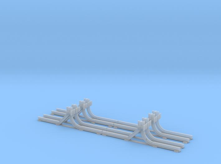 Schmalspur-Prellbock 1:45 (4x) 3d printed